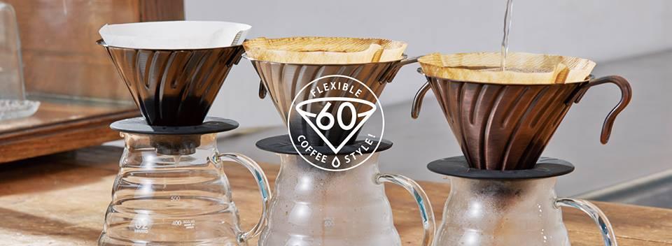 Phong cách pha Pour over bằng phễu Hario V60