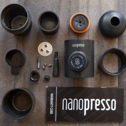 Hướng dẫn làm sạch dụng cụ ép Espresso bằng tay Nanopresso