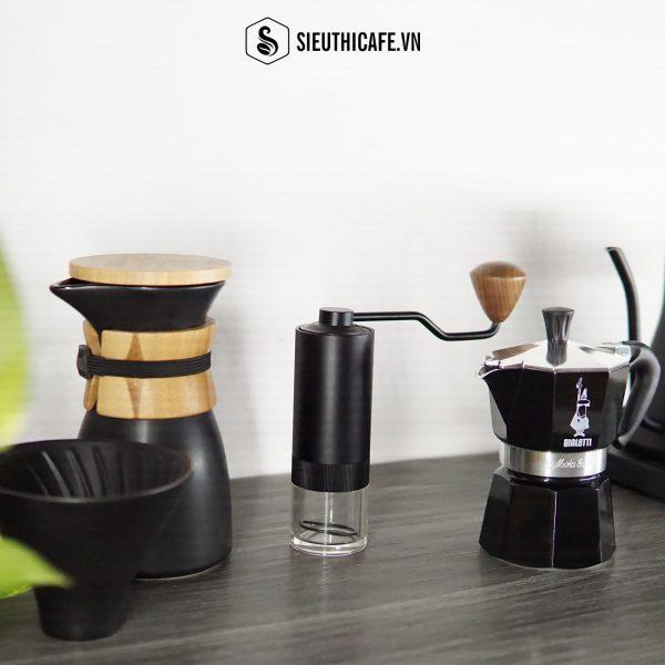 KHÍ CHẤT CỦA BỘ MÔN NGHỆ THUẬT THỨ 8 – BỘ COMBO PHA CÀ PHÊ GURU PRO COFFEE GEAR IN BLACK