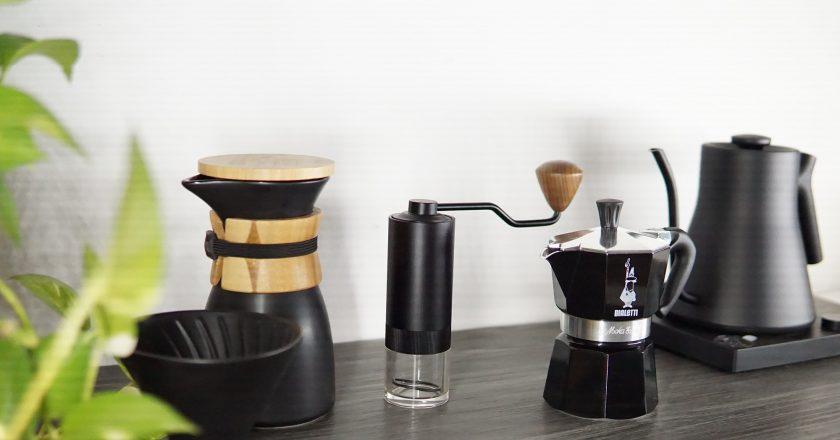 (Phần 2) KHÍ CHẤT CỦA BỘ MÔN NGHỆ THUẬT THỨ 8 – BỘ COMBO PHA CÀ PHÊ GURU PRO COFFEE GEAR IN BLACK